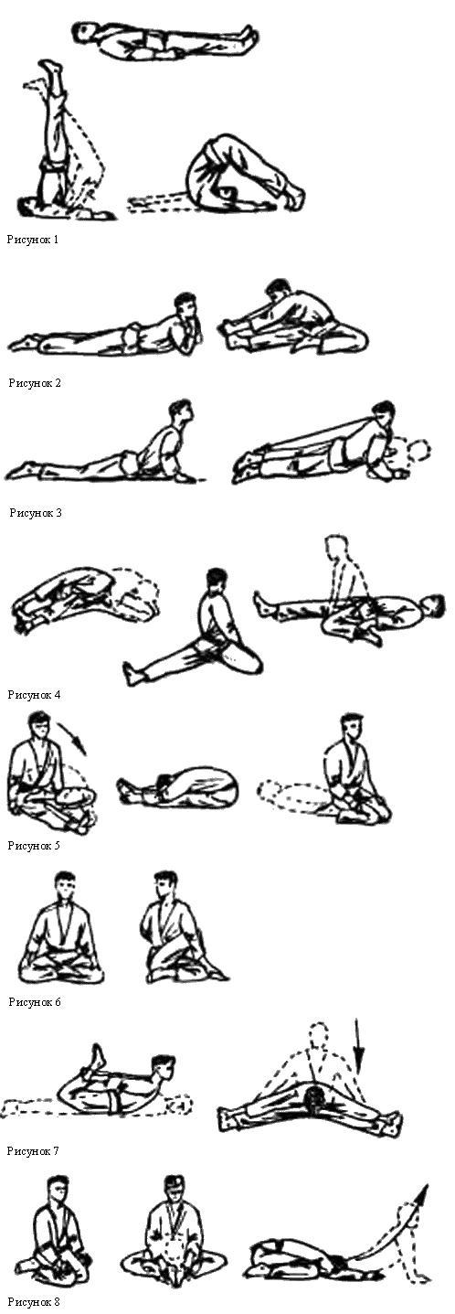 статические силовые и маховые упражнения